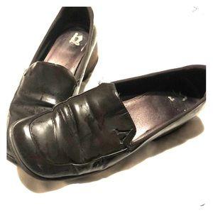 Anne Klein shoes 1 inch brown